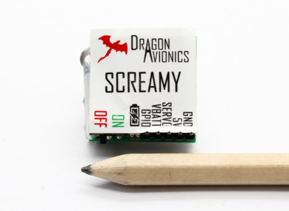 Screamy Lost Model Alarm With Battery Backup And Low Voltage Alarm