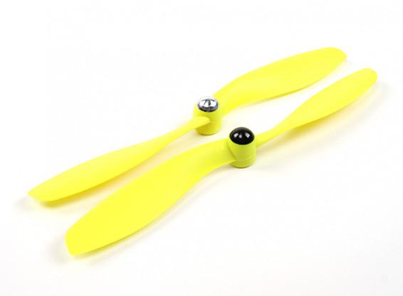 Self Tightening Propeller 8x4.5 Yellow (CW/CCW) (2pcs)
