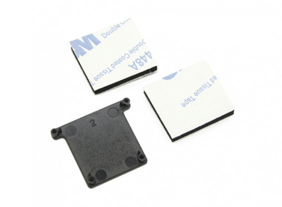 Assault 100 Flybarless Helicopter Replacement PCB Mount with Double Sided Tape