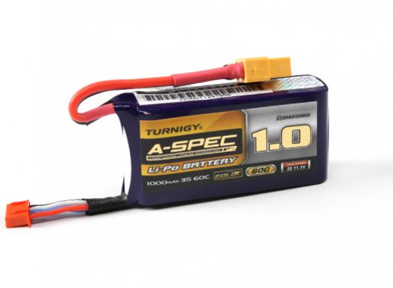 Turnigy nano-tech A-SPEC G2 1000mah 3S 60~90C Lipo Pack