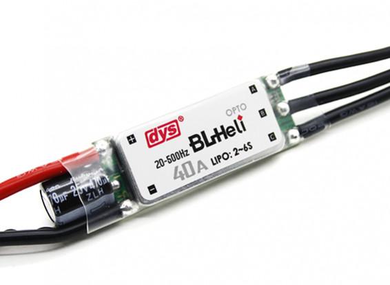 DYS 40Amp Mini Opto BLHeli Multi-Rotor Electronic Speed Controller (BLHeli Firmware) SN40A