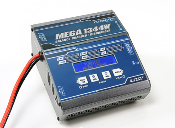 TURNIGY MEGA 1344W / 40A Balance Charger / Discharger