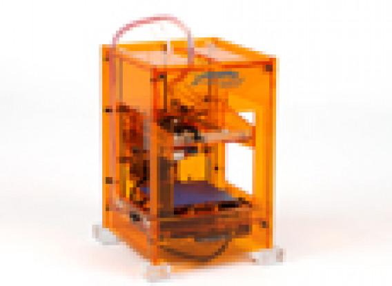 Fabrikator Mini 3D Printer - V1.5 - Orange - US 110V