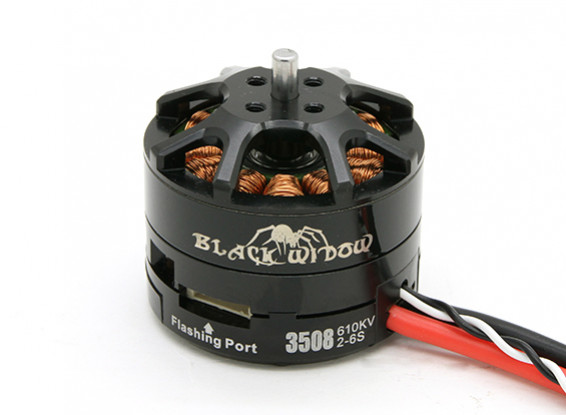 Black Widow 3508-610Kv With Built-In ESC CW/CCW
