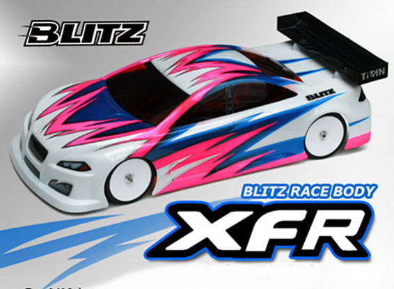 BLITZ XFR Race Body (190mm) (0.8mm) EFRA 4028