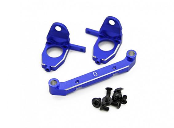Aluminium Rear Gearbox Set w/Easy Toe Control System (0° toe) - Turnigy TZ4 AWD/Drift Spec