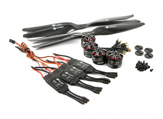 LDPOWER D450 Multicopter Power System 2810-720kv CW/CCW (12 x 5.5) (4 Pack)