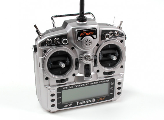 FrSky 2.4GHz ACCST TARANIS X9D/X8R PLUS Telemetry Radio System (Mode 2) (EU)