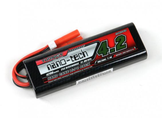 Turnigy nano-tech 4200mAh 2S 25C Hardcase Lipo Pack