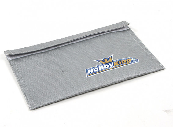 HobbyKing®™ Fire Retardant LiPoly Battery Bag (Flat) (230x140mm) (1pc)