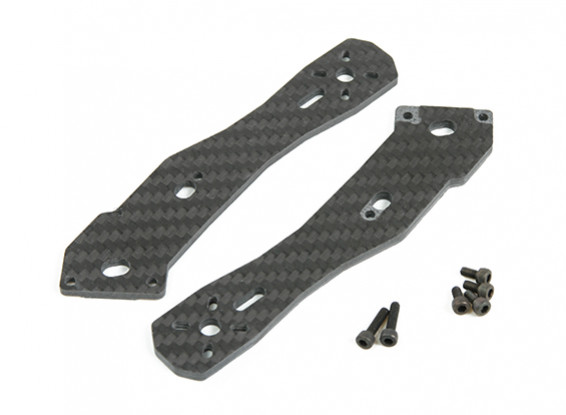 Tarot 3mm Thick Rear Arms for TL250H Half Carbon Fiber