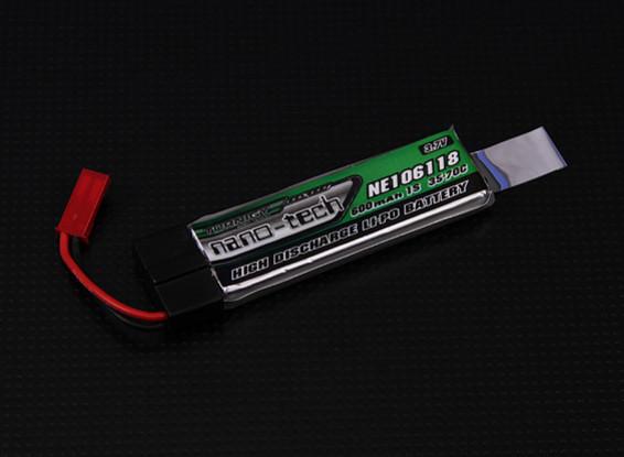 Turnigy nano-tech 600mah 1S 35~70C Lipo (Nine Eagles Solo Pro 328, Eflite MQX, 120SR)
