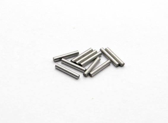 Wheel Shaft Pin (10pcs) - Basher RockSta 1/24 4WS Mini Rock Crawler