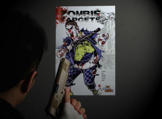 Zombie Clown Paper Target (50 sheets)