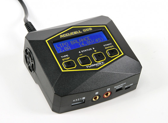 Turnigy Accucell S60 AC Charger (US Plug)