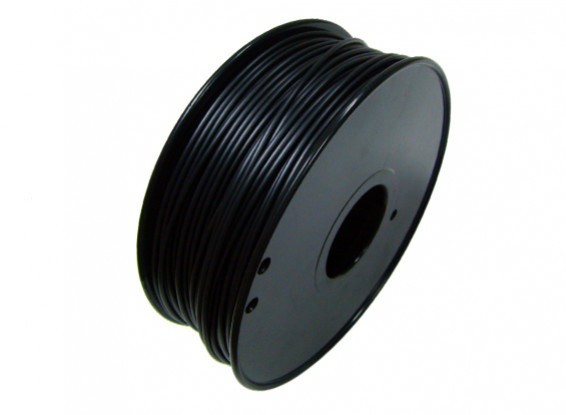 HobbyKing 3D Printer Filament 1.75mm HIPS 1KG Spool (Black)
