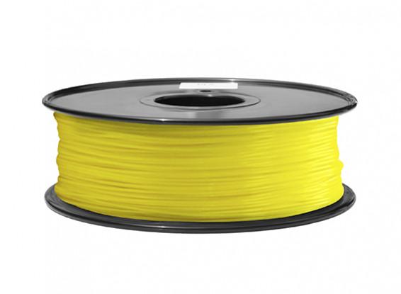 HobbyKing 3D Printer Filament 1.75mm ABS 1KG Spool (Yellow)