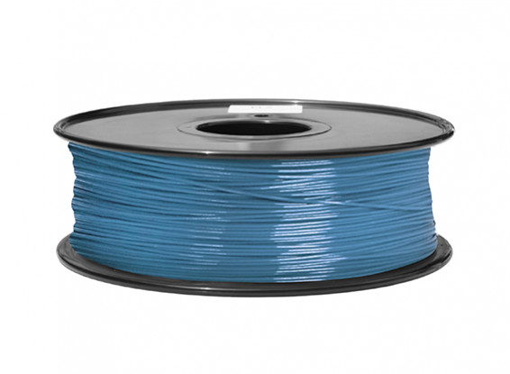 HobbyKing 3D Printer Filament 1.75mm ABS 1KG Spool (Blue P.632C)