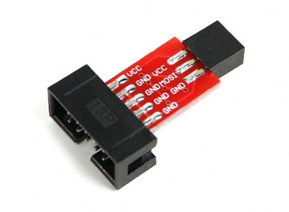 ATMEL ISP10 to ISP6 Adapter