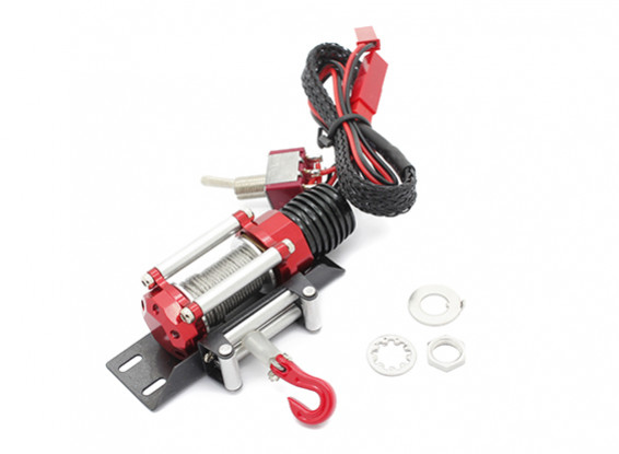 Electric Winch for 1/10 Scale Land Rover Defender