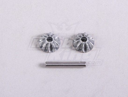 Diff. Bevel Gear S. W/Shaft (1Pc/Bag) - A2016T and A3002