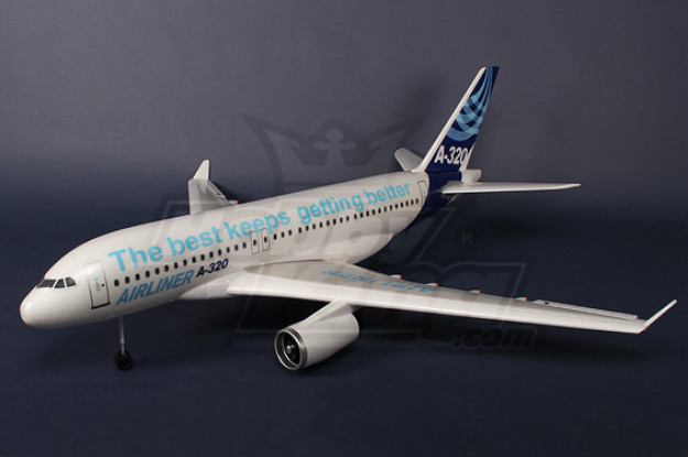 A320 Airbus R/C Plane EPO Plug-n-Fly