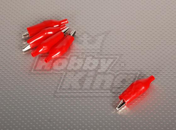 Alligator Clip RED (5pcs/bag)