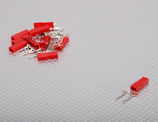 JST Male 2 Pin Connector Set (10pcs/set)