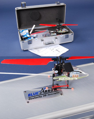 Blue Arrow Dexterity 3DX V2 Helicopter 72Mhz