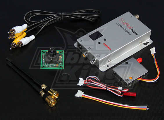 900MHZ 100mW Tx/Rx & 1/3-inch CCD Camera PAL 420TVL