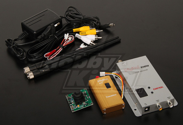 900MHZ 1500mW Tx/Rx & 1/3-inch CCD Camera NTSC