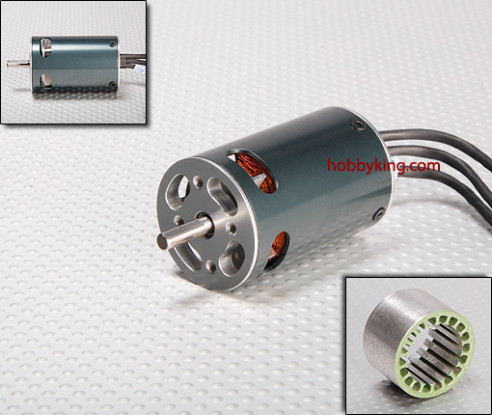 Turnigy 480L V-Spec Inrunner w/ Impeller 2150kv