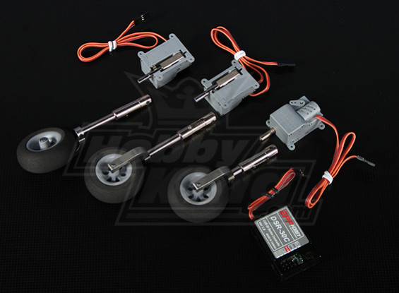 DSR-30TS Electric Retract Set - Models up to 1.8kg