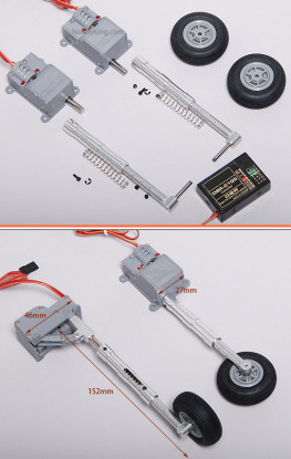 Digital Servoless Adjustable Landing Gear set