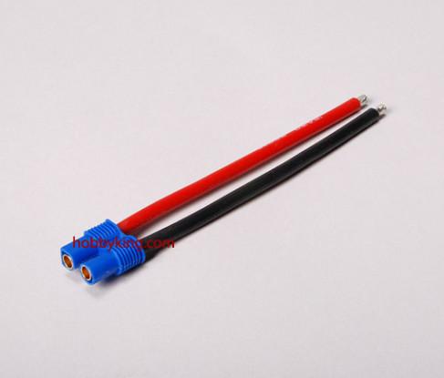EC3 Female - 12awg Wire 10cm