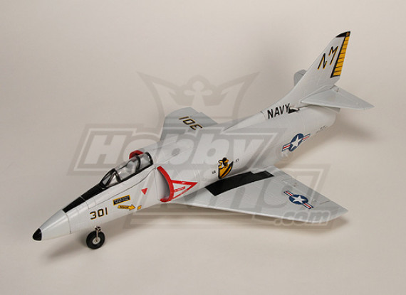 A4 Skyhawk Fighter R/C EDF Jet Plug-n-Fly