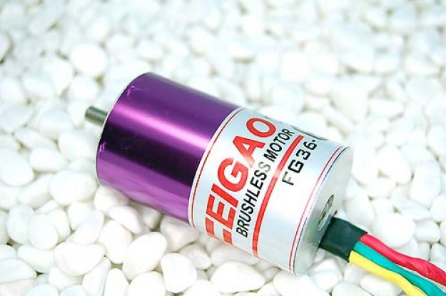 Feigao 540-12L 12T 2050kv Brushless Inrunner