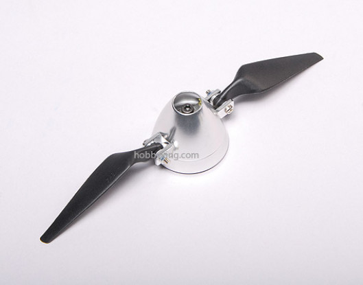 Folding Propeller 8x4 W/ Alloy hub 40mm / 3.2mm shaft