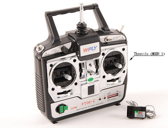 WFLY 6Ch Flight System (Mode1 40mhz)