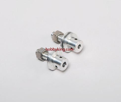 Prop adapter w/ Steel Nut 5/16x24-M6mm shaft (Grub Screw Type)