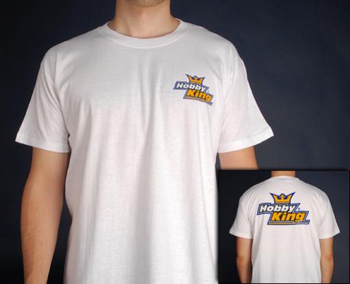 Hobby King T-Shirt WHITE (Medium)