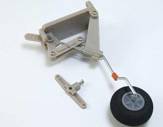 Retractable Tail Landing Gear set.