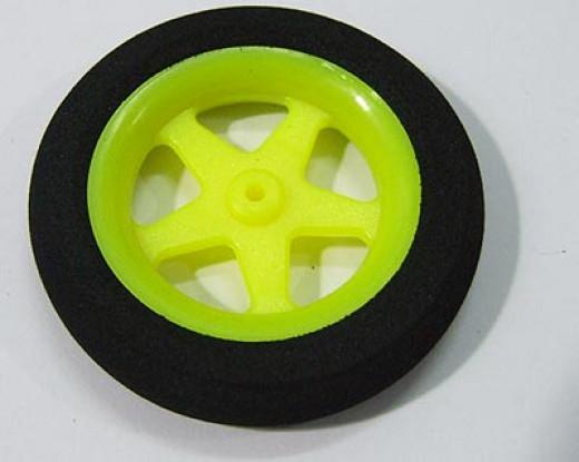 Super Light 5 Spoke Wheel D46xH9 1pc