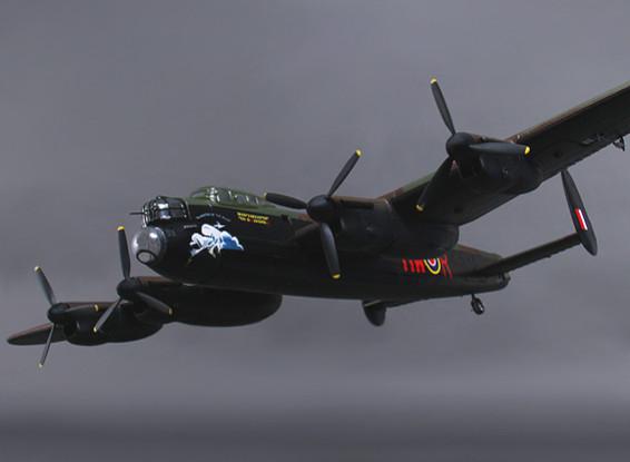 Avro Lancaster w/Retracts/Door Sequencer and Bomb Doors 1300mm (PNF)