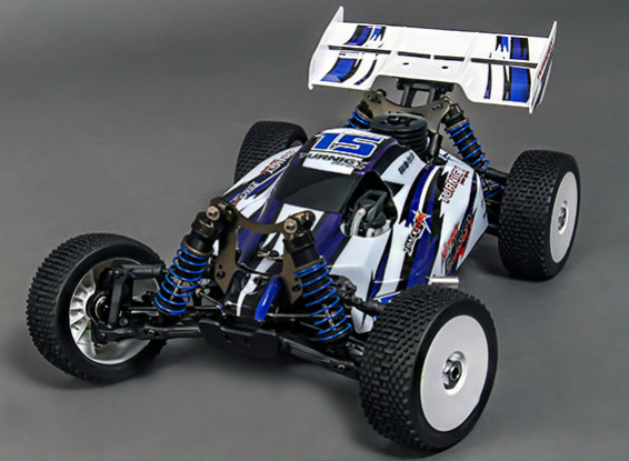 Turnigy Nitro Rumble 1/8th 4wd Nitro Racing Buggy (Ready-To-Run)