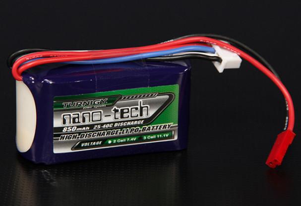 Turnigy nano-tech 850mah 3S 25~40C Lipo Pack