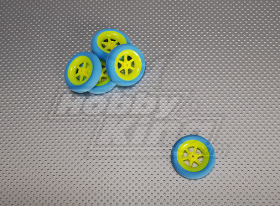 Super Light 5 Spoke Wheel D40x11 (5pcs/bag)