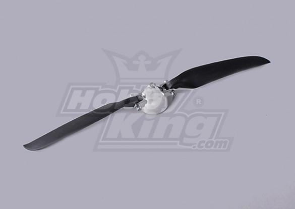 Folding Propeller W/Alloy Hub 40mm/3mm Shaft 11x6 (1pc)