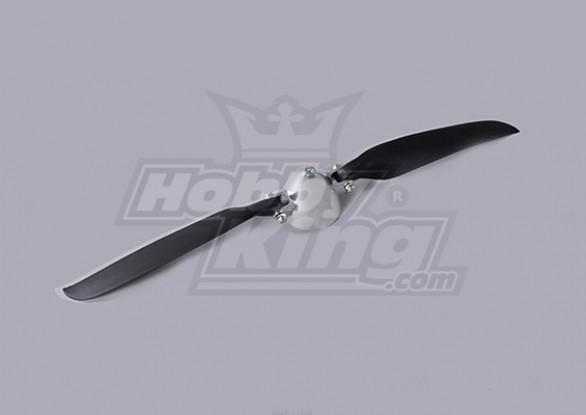 Folding Propeller W/Alloy Hub 45mm/3mm Shaft 12x6 (1pc)