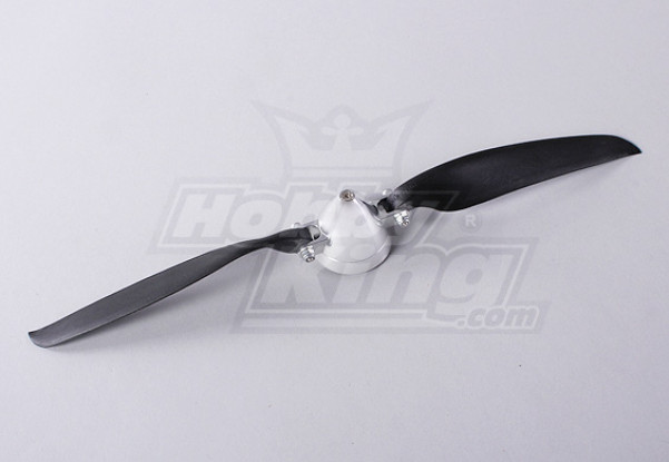 Folding Propeller Assembly 12x10 (Alloy/Hub Spinner) (1pc/bag)